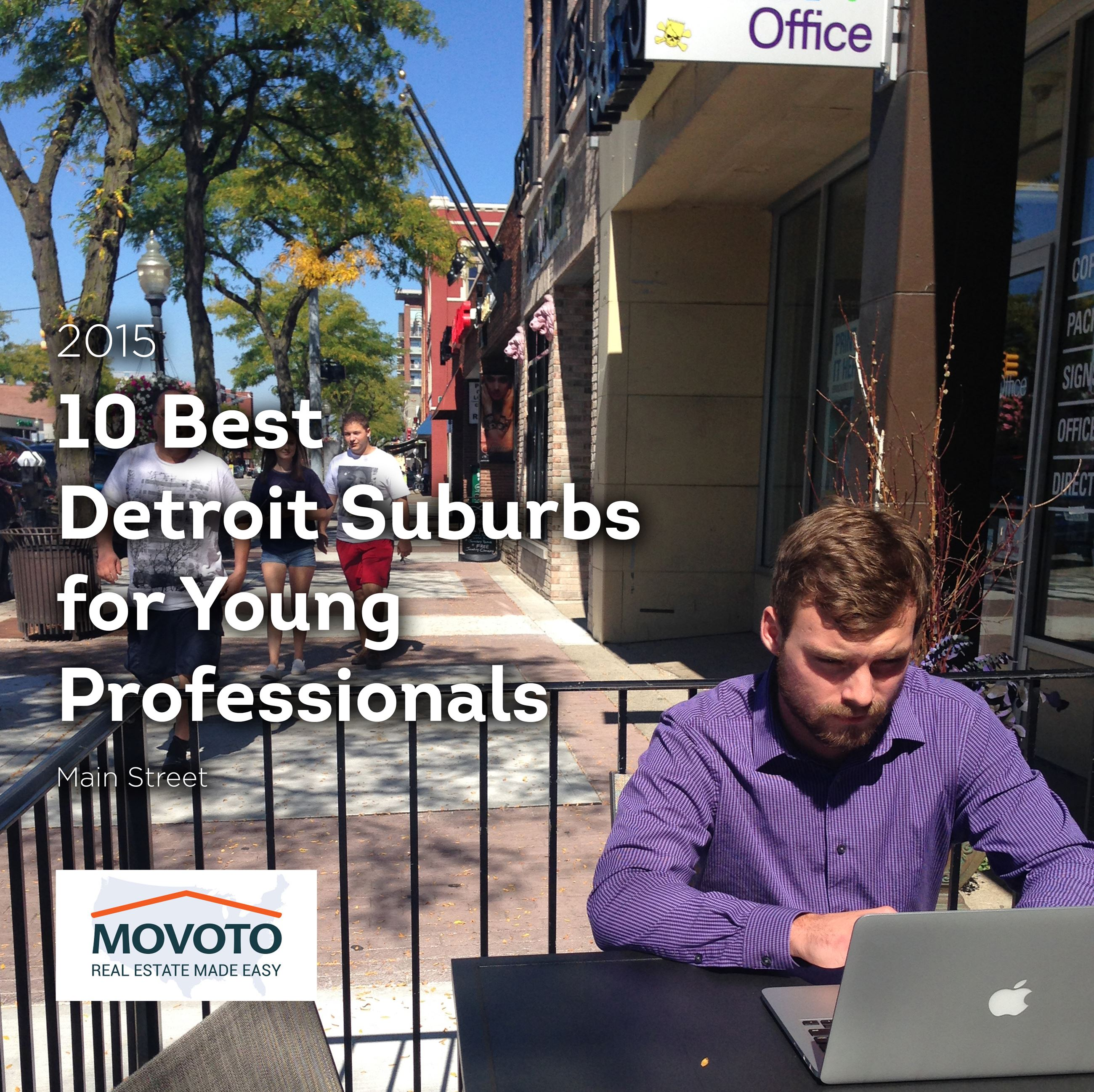 10 Best Detroit Suburbs for Young Professional