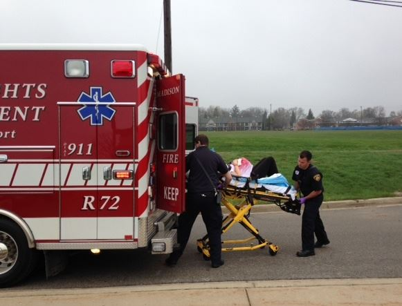 Oakway MCI Drill 042216 EMS triage-transports priority