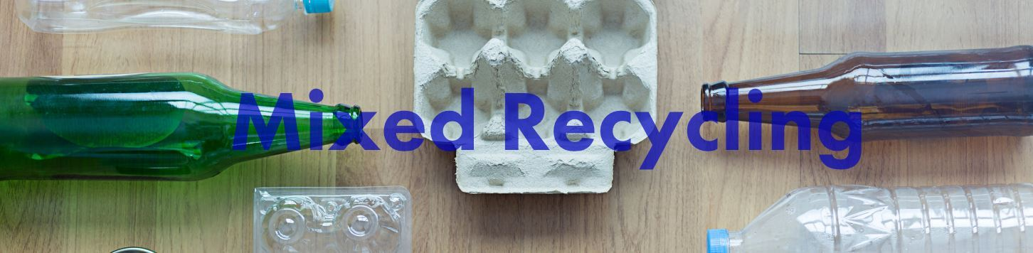 mixed recycle banner