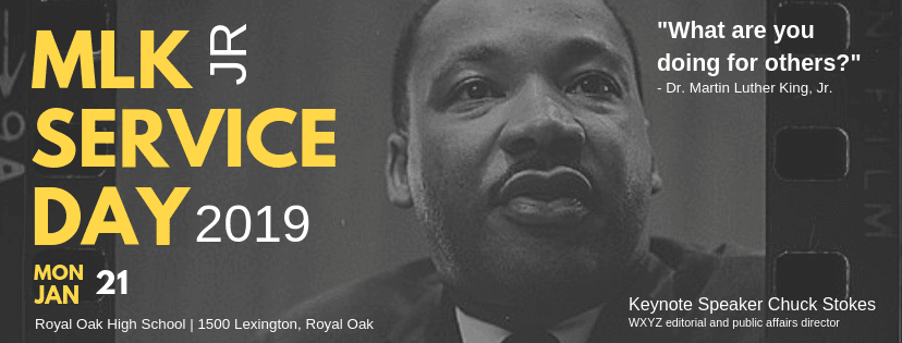 2019 MLK SERVICE Day FB Banner