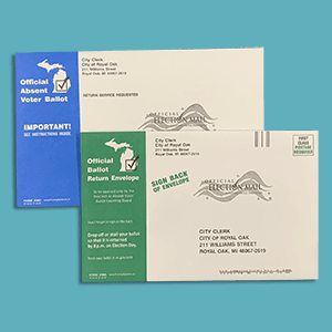 New Absentee Ballot Envelope